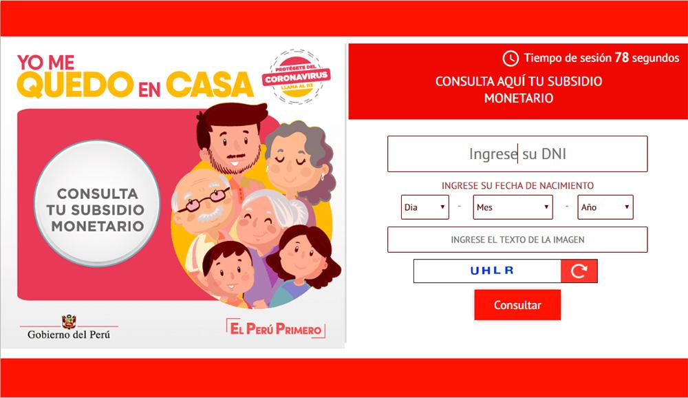 Bono de 380 soles: ¡Consulta aquí si eres beneficiario del subsidio del gobierno peruano por el coronavirus!