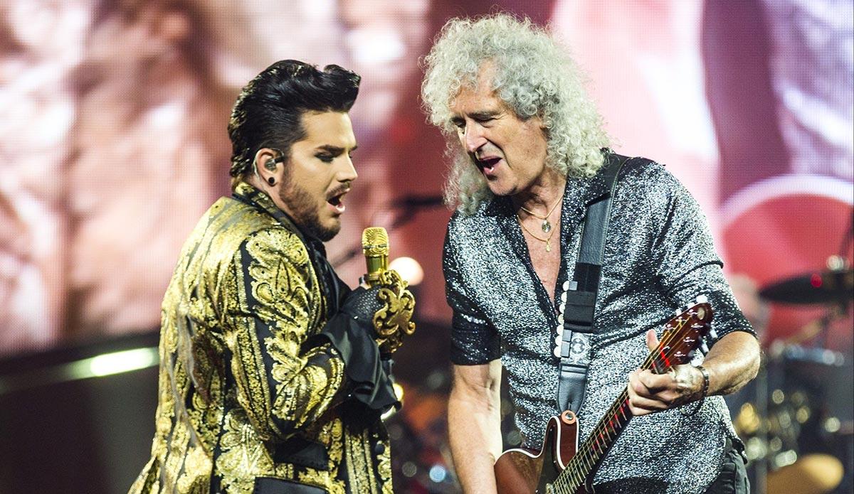 Brian May agradece a Adam Lambert por ser parte de la historia de Queen