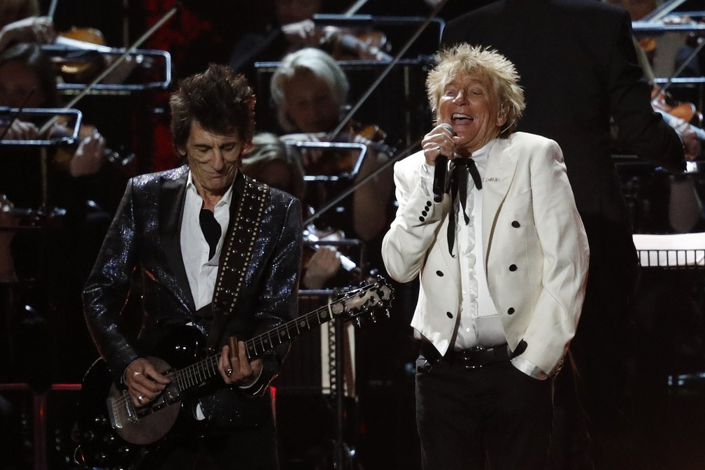 Brit Awards 2020: Rod Stewart cerró con broche de oro la gala evocando a The Faces (VIDEO)