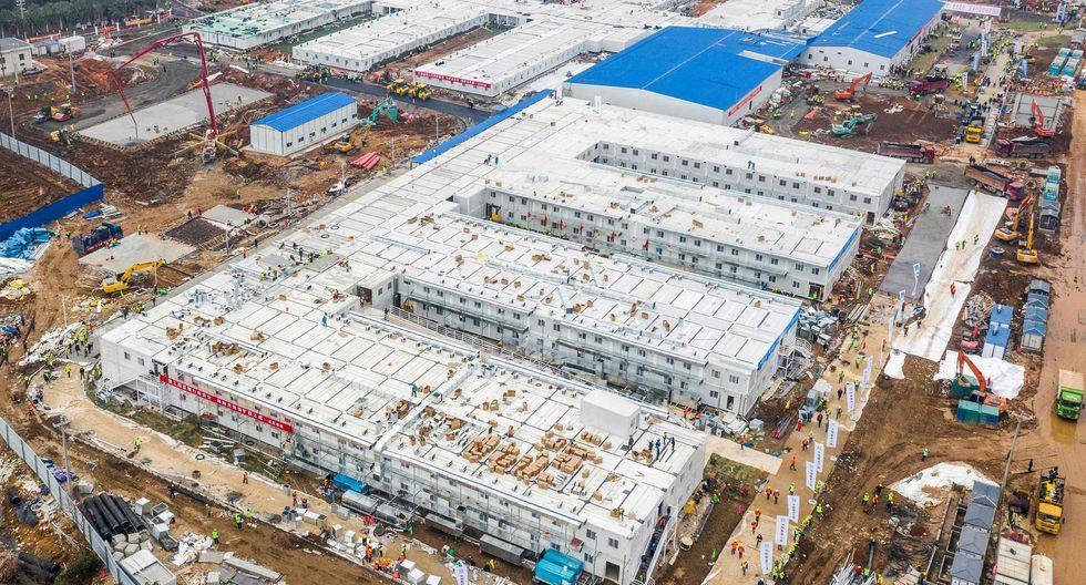 EN VIVO | China finaliza la construcción de hospital levantado en solo 10 días para pacientes de coronavirus | FOTOS Y VIDEOS