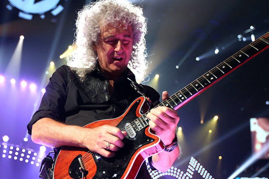 El guitarrista de Queen Brian May fue llevado de urgencia a un hospital después de un ataque al corazón