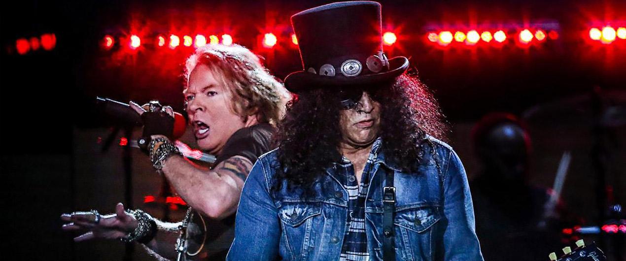 Guns N Roses tocó en vivo