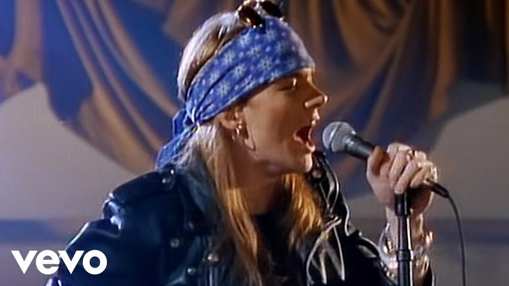 Guns N' Roses: conoce cuáles son los videos más vistos en YouTube