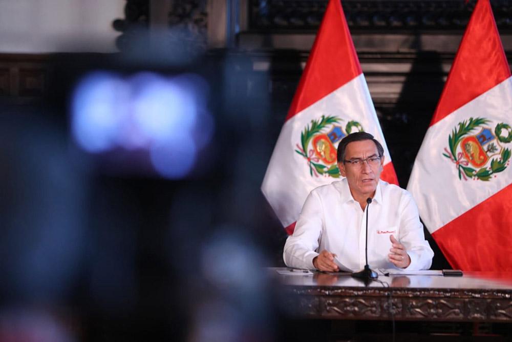 Presidente Vizcarra confirma 416 casos de coronavirus en el país (VIDEO)