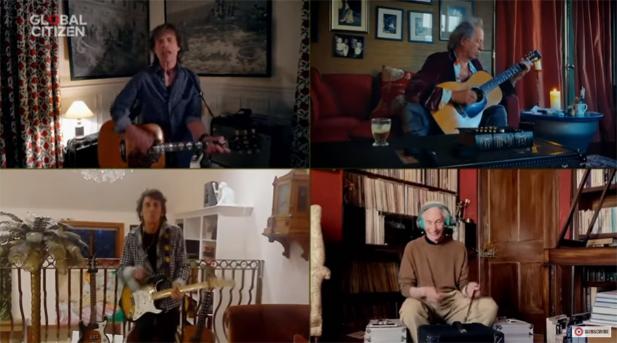 Revive el épico reencuentro de Los Rolling Stones en el One World: Together at Home (VIDEO)