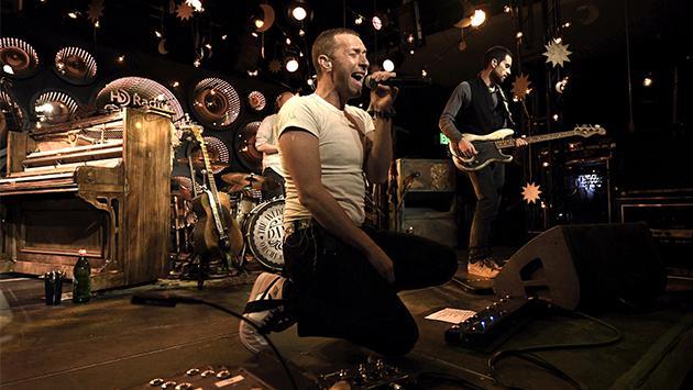 Estrenan documental de Coldplay en plataforma digital