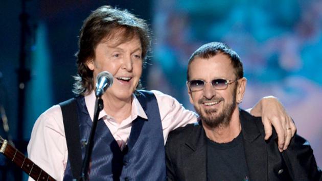 Paul McCartney y Ringo Starr: Sale a subasta una canción inédita suya