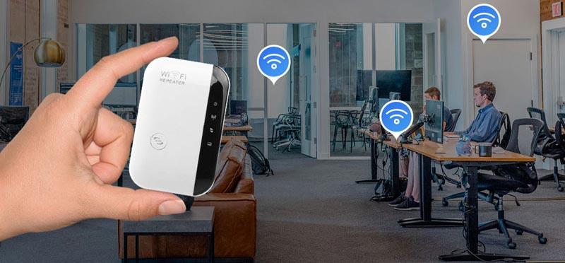 Este amplificador de WiFi súper efectivo te permitirá disfrutar de una señal perfecta desde cualquier lugar de tu hogar u oficina.