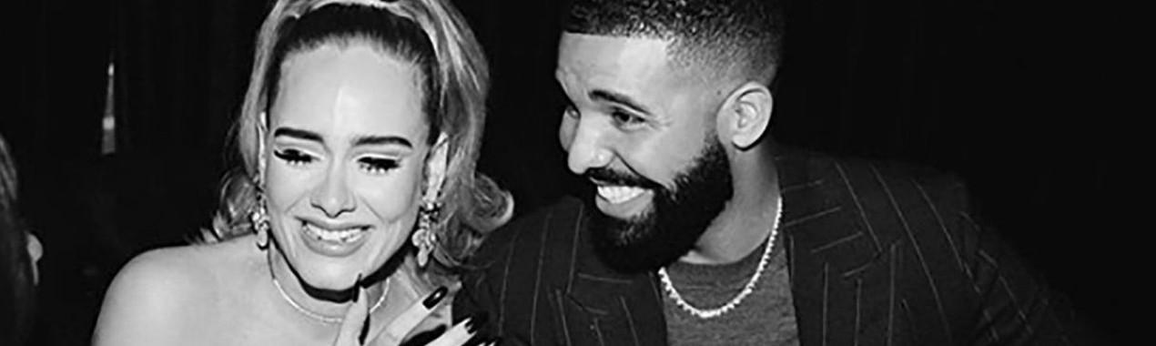 Adele asiste a la fiesta de cumpleaños de Drake después de solicitar el divorcio
