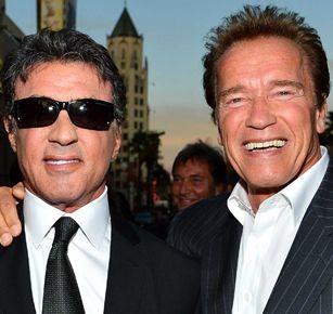 Schwarzenegger y Stallone celebraron a lo grande el cumpleaños de 'Terminator' [VIDEO]